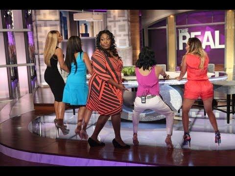 'The Real' Ladies Learn to Twerk!