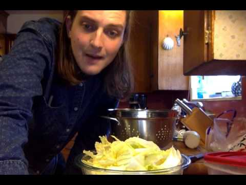 Cooking with Sam - A quick and easy guide for making Kimchi