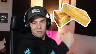 I made a song about grilled cheese