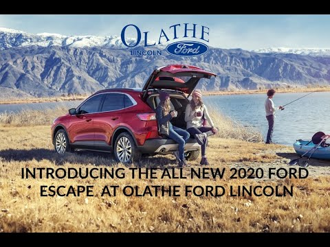 Introducing the all new 2020 Ford Escape at Olathe Ford Lincoln