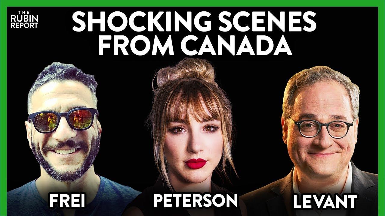 Canada's COVID Insanity: Mikhaila Peterson, Viva Frei, Ezra Levant | ROUNDTABLE | Rubin Report