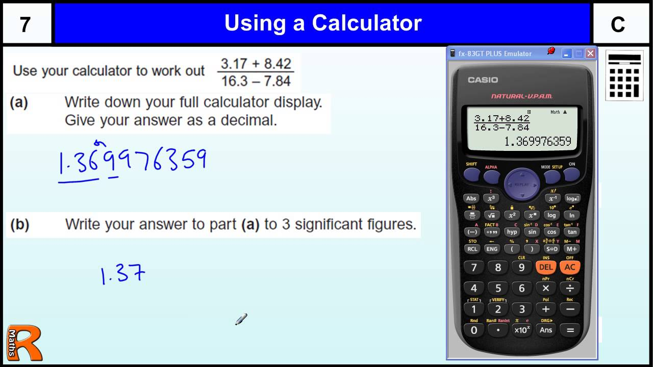 Watch on Rounding Significant Figures