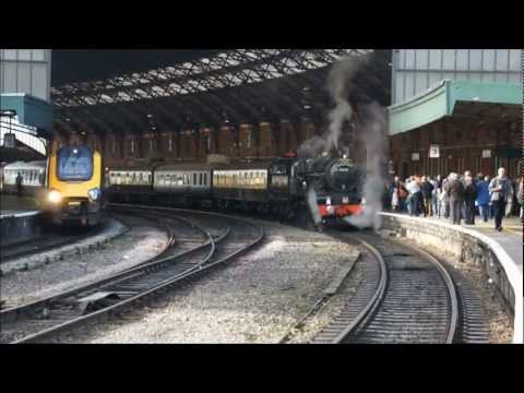 Train Spotting 2012 review steam, diesel, electric and tube