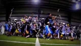 Harlem Shake - Titanium Lacrosse