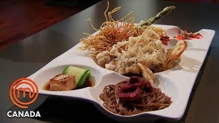 Bento Box challenge - The Losing Team Leaves! - MasterChef Canada | MasterChef World