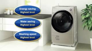 Sharp Front Loading Washer + Dryer