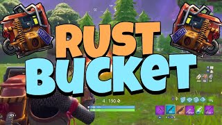 13 KILLS . RUST BUCKET GAMEPLAY (Fortnite battle Royal)