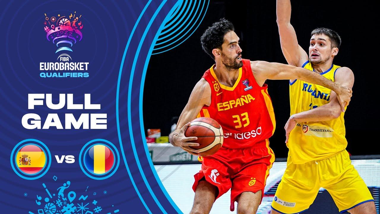 Spain v Romania - Full Game
