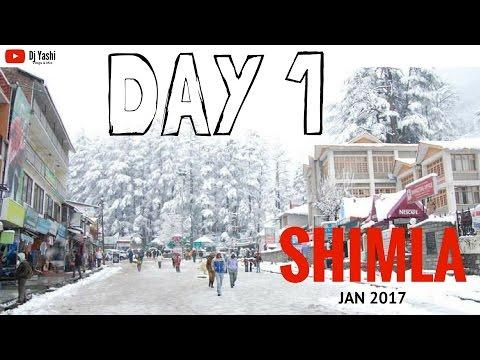 Shimla Trip | Jan 2017 | Day 1 | Travel Vlog 50