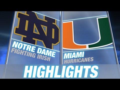 Notre Dame vs Miami   2014-15 ACC Women's Basketba...