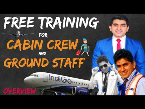 FREE TRAINING FOR CABIN CREW | FREE TRAINING FOR GROUND STAFF | FREE AVIATION COURSE ONLINE