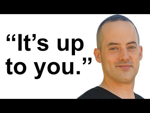 """It's up to you."" - Learn A Spoken English Phrase Like A Native English Speaker"