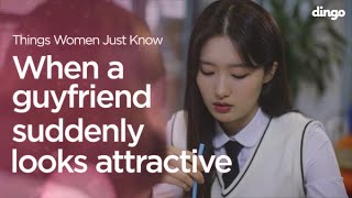 When a guy friend suddenly looks attractive ENG SUB • dingo kbeauty YouTube Videos