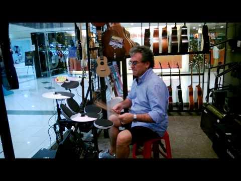 Kuala Lumpur-  in the music store