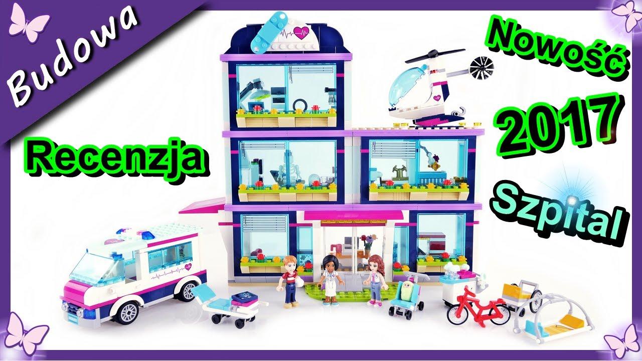 Szpital W Heartlake Nowość Klocki Lego Friends 41318