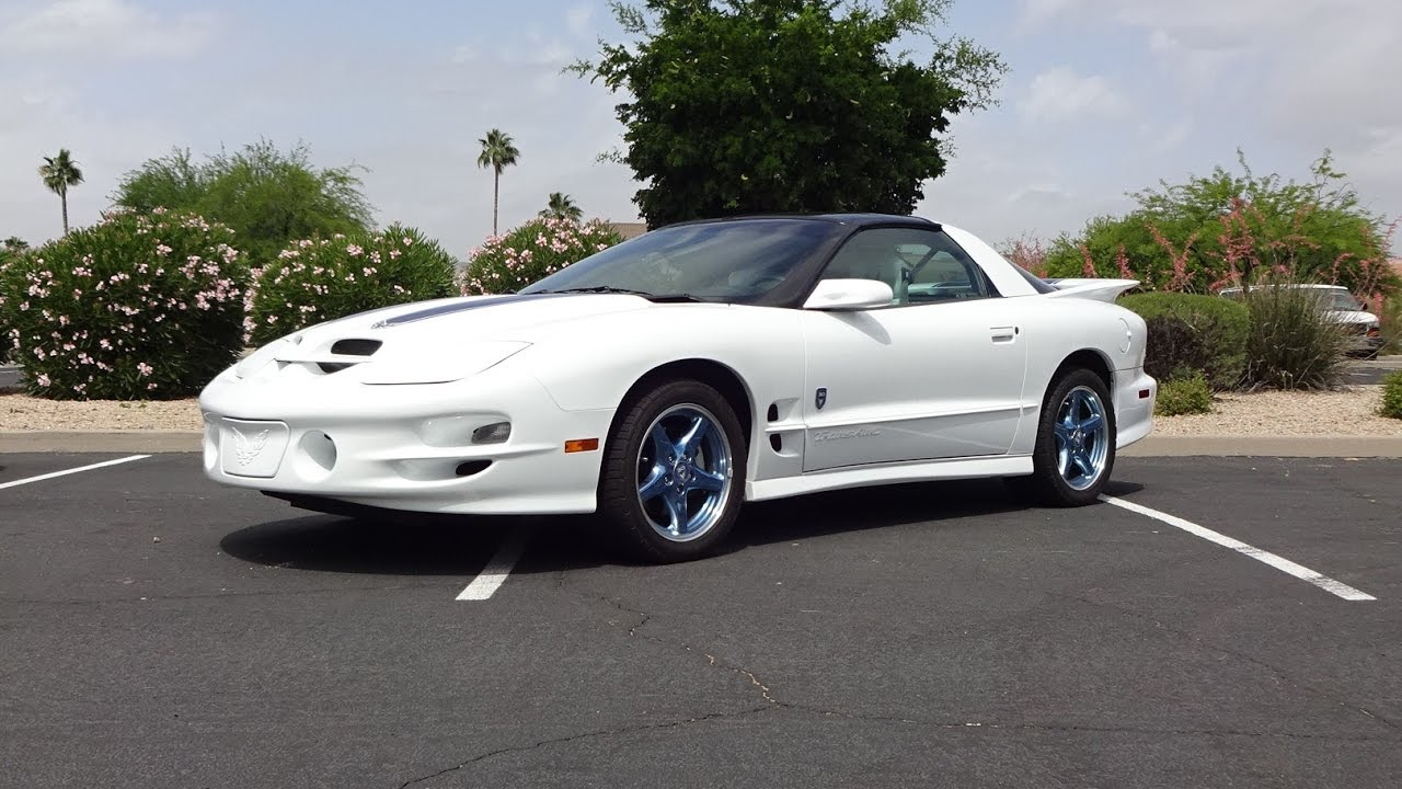 1999 Pontiac Trans Am 30th Anniversary 193 Ws6 Engine Sound On My Car Story With Lou Coile