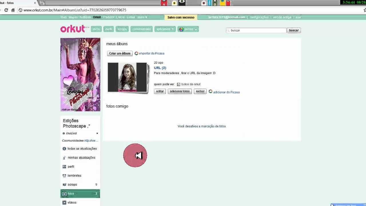 Como ver fotos bloqueadas do orkut 2012 88