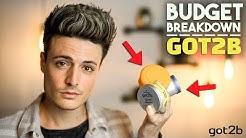 Is Got2B Any Good? | Budget Breakdown | Men's Hair Products | BluMaan 2018