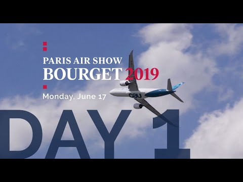 Paris Air Show - Opening Day