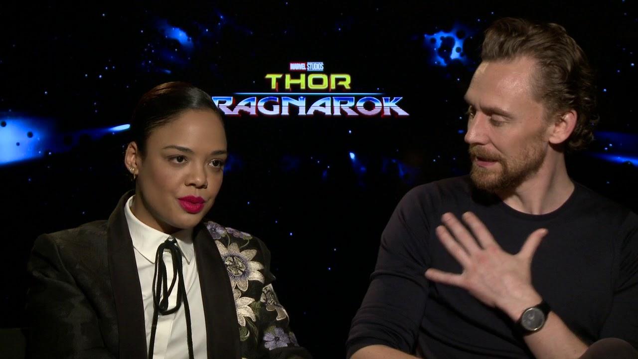 Thor: Ragnarok | Tessa Thompson and Tom Hiddleston -