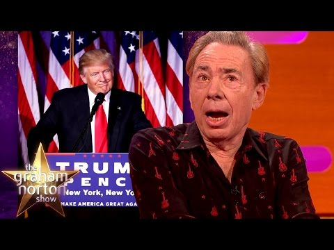 Andrew Lloyd Webber Ponders A Donald Trump Musical - The Graham Norton Show