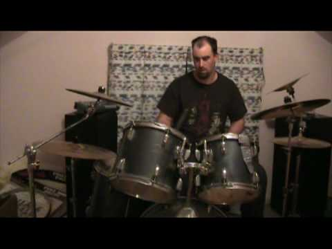 chris ford messin around on the drums not a solo