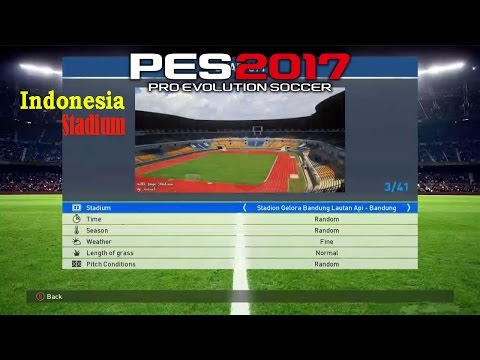 [PES2017] How to INSTALL Indonesian Stadium
