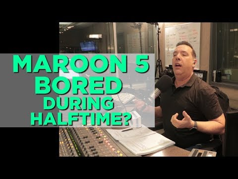 In-Studio Videos - Was Adam Levine Bored During The Super Bowl Halftime Show?