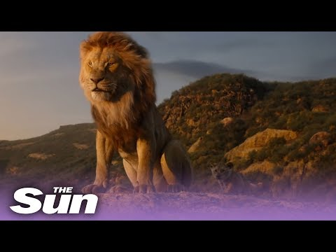 The Wake Up Show - The Full Trailer For The Lion King Is Finally Here