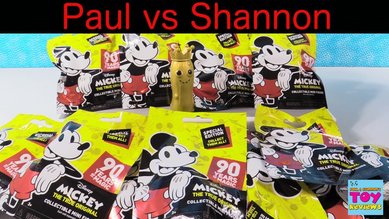 2a1bf7f96 Paul vs Shannon Disney Mickey Mouse 90 Years Of Magic Blind Bags |  PSToyReviews