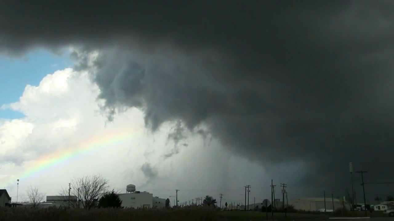 Tornado Rainbow New Minden Il Centralia Il November 17