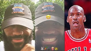 LeBron James Reveals Space Jam 2 & Michael Jordan Turned Down $100M Deal Appearance!