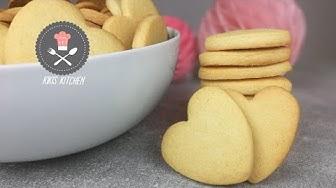Grundrezept Ausstechplätzchen / Teig zum Ausstechen / Kekse Mürbteigkekse | Kikis Kitchen