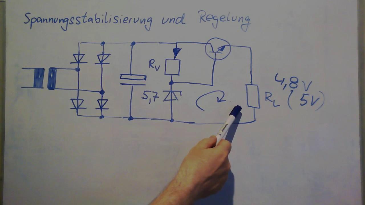 Analoge Schaltungstechnik ▻Diverse Spannungsregler - YouTube