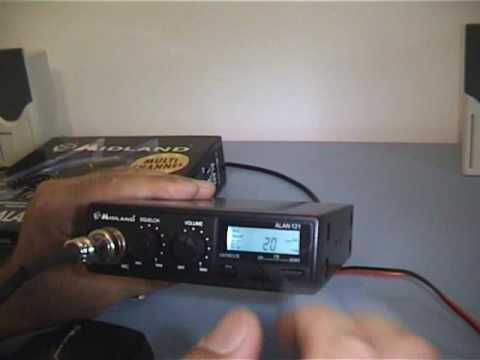 Midland Alan 121 Statie radio CB - solutie pentru radarul nedetectabil 2010