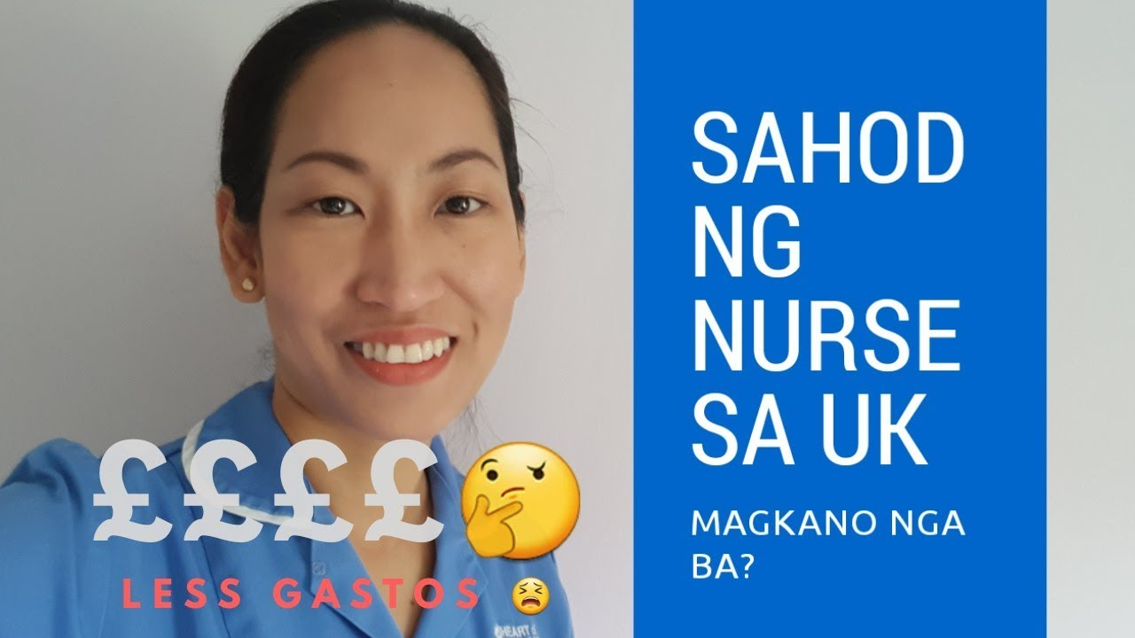 What is the Monthly Salary of a Nurse in the United Kingdom
