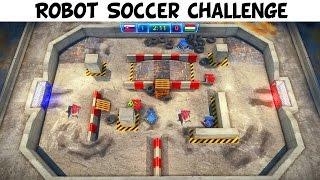 Robot Soccer Challenge - 5 Matches Gameplay PC STEAM HD