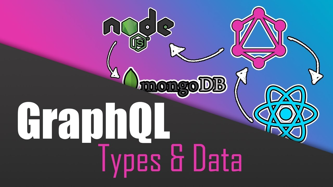 Build a Complete App with GraphQL, Node.js, MongoDB and React.js | Types & Data