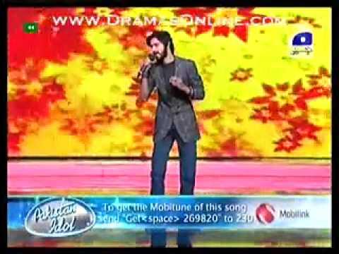 Kashif Ali and Sajjad Ali on Stage - Most Beautiful Singer In Pakistan Idol