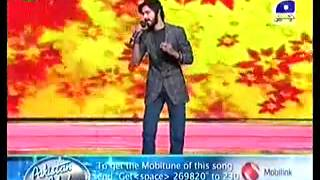 Kashif Ali and Sajjad Ali on Stage - Most Beautiful Singer In Pakistan Idol