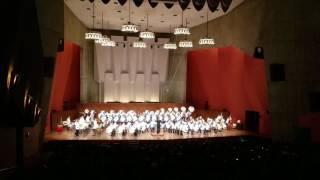2017年  熊本工業高校吹奏楽定演     「ファンファーレとプロセッショナル」