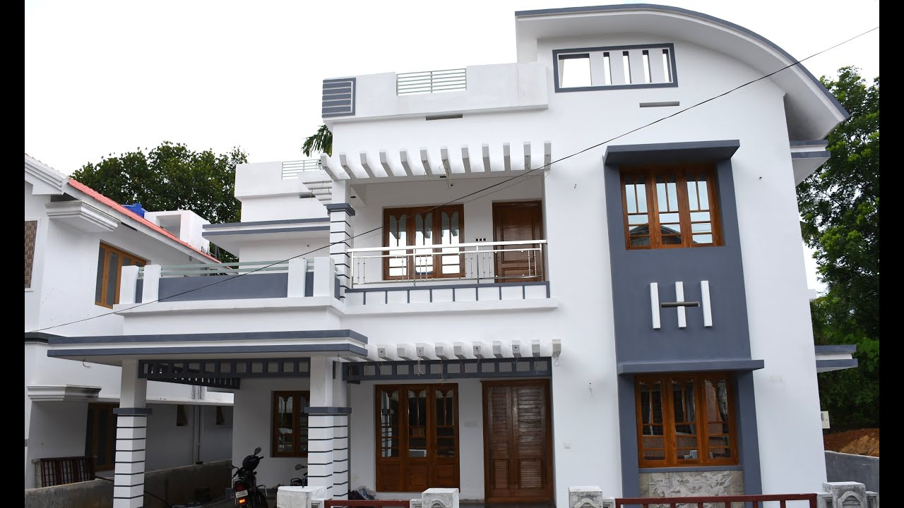 Athani  Cents Plot And  Sq Ft Modern House  SOLD  YouTube - Modern house 5