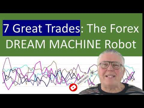See 7 Great trades made by the Forex Dream Machine Forex Robot from the 80 percent success rate