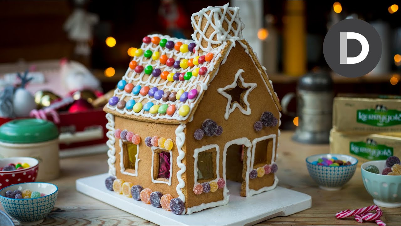 Diy gingerbread house youtube solutioingenieria Image collections
