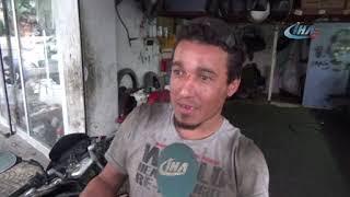 Engelli Suriyeli Ahmet'in Çalışma Azmi Takdir Topluyor Hatayinternettv.com