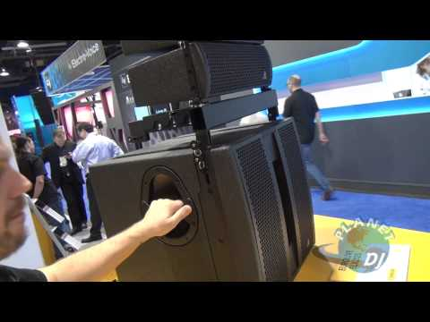 Behringer Line Array Speakers - NAMM 2012