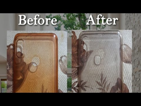 how to clean phone cover in Hindi
