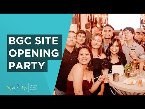Diversify Offshore Staffing Solutions | New BGC Site and Brand Launch Party