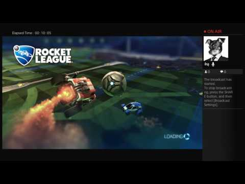 Rocket League another live stream right away