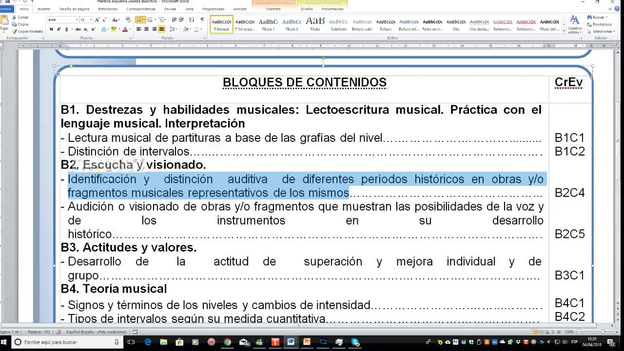 Magnífico Plantilla De Plan De Lección De Música Viñeta - Ejemplo De ...